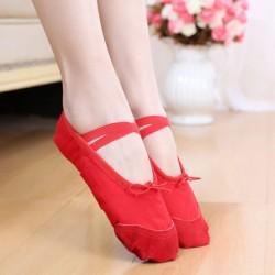 BC00001    Canvas split sole ballet shoe