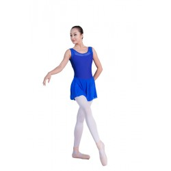 B150429    Women Leotard With Skirt