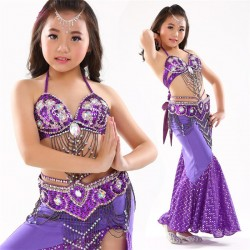 Be00047   Belly Dance Costume Child