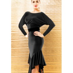 HW16015   Latin Dance Practice Dress