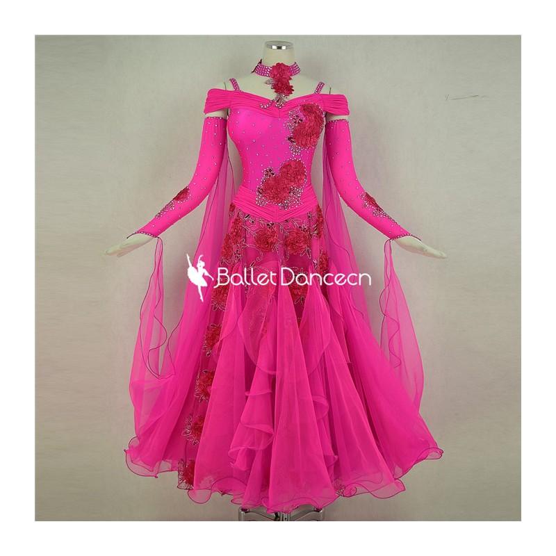 HF00470 Ballroom performances Dress