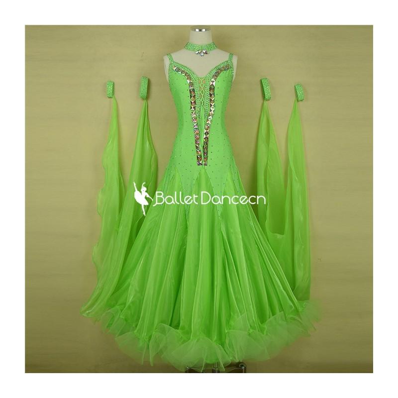 HF00451 Ballroom performances Dress