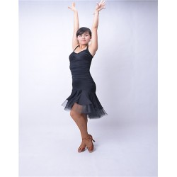 HW13006 Latin Dance Practice Dress