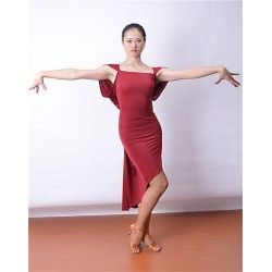 HW13015  Latin Dance Practice Dress