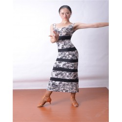 HW13007  Latin Dance Practice Dress